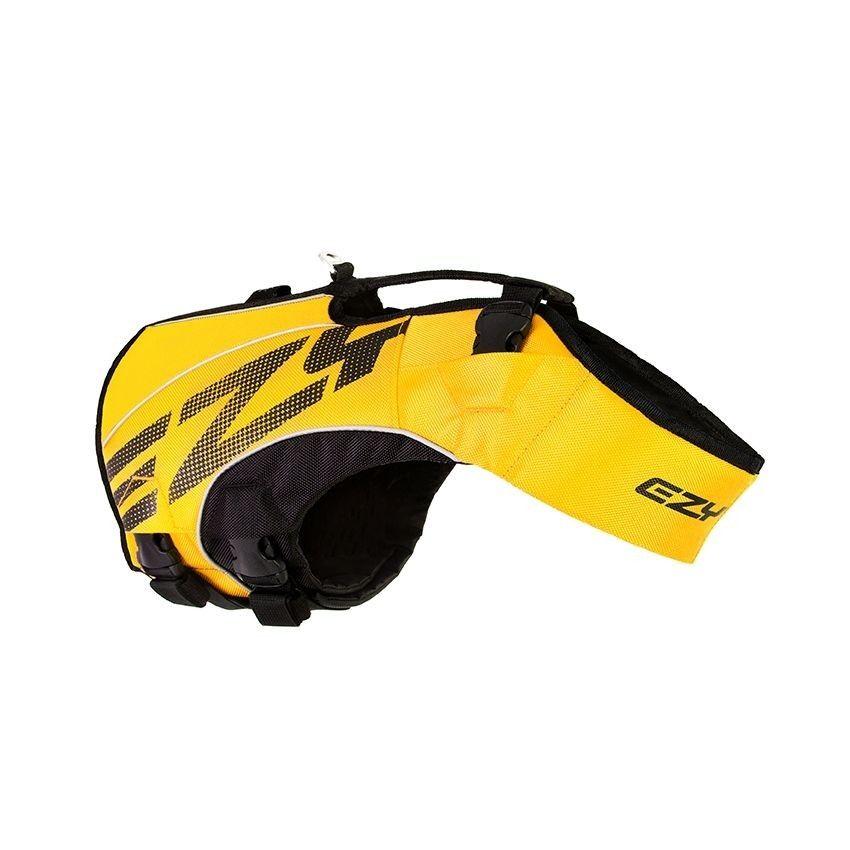 Jaune - Gilet de flottaison pour chien | Gilet de sauvetage |x2 Boost